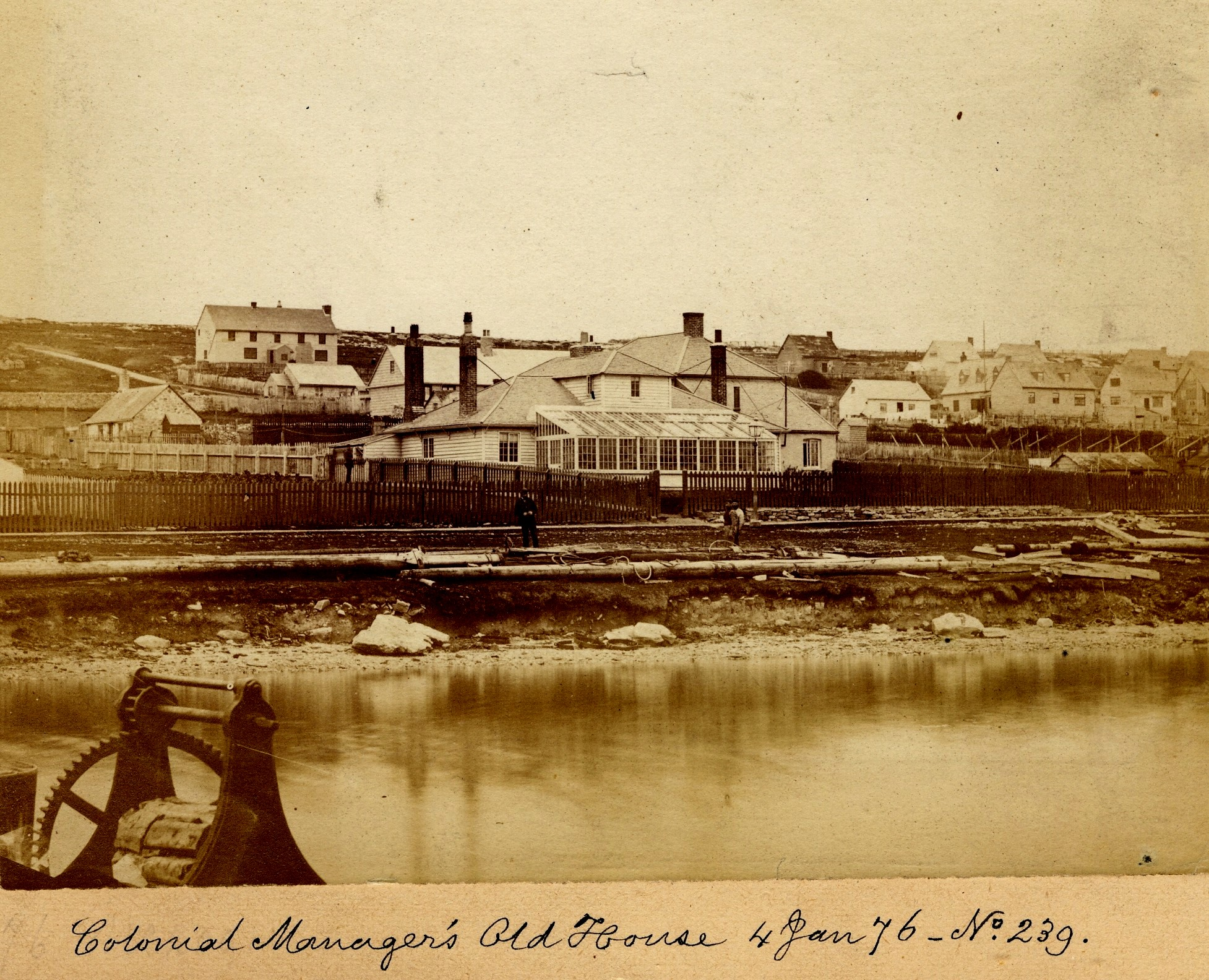 Colonial Managers old house 4 Jan 1876